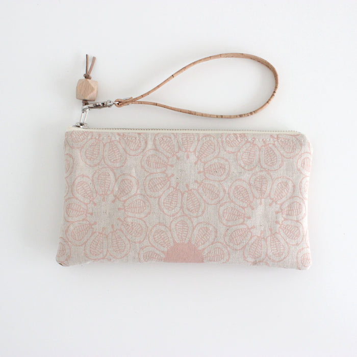 The Small Clutch in Ficus Blush Pink