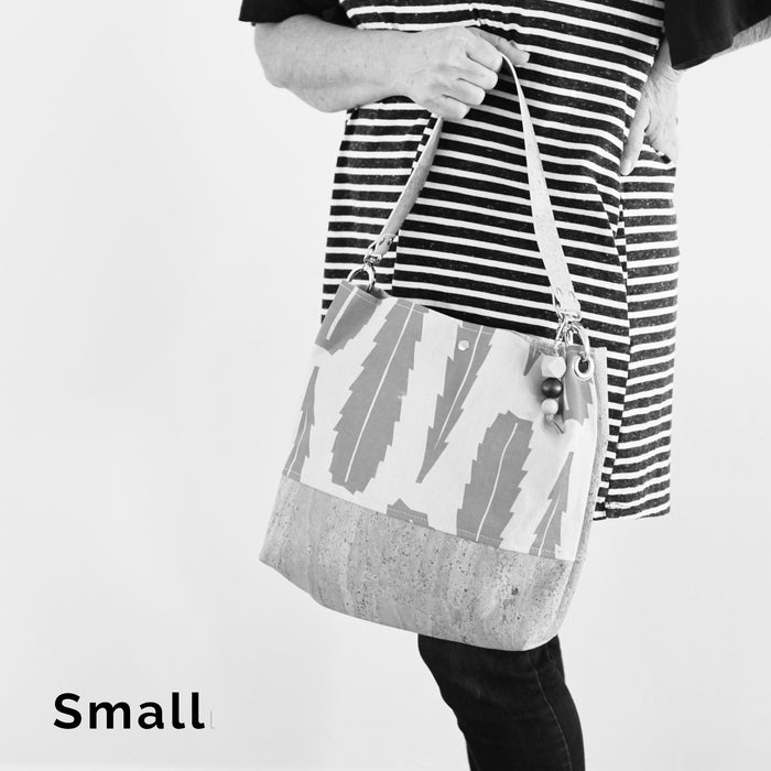 The Grommet Bag in Silver Dollar Gum Evergreen