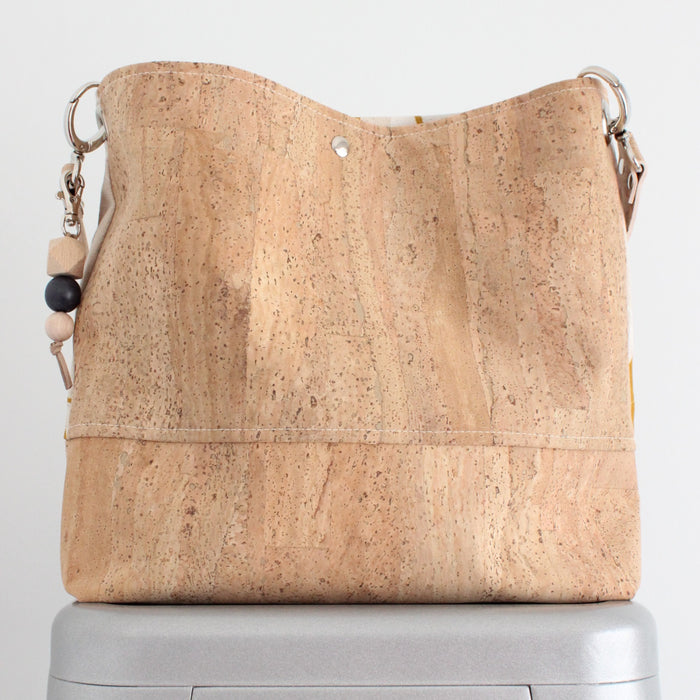The Grommet Bag in Silver Dollar Gum Yellow Ocher