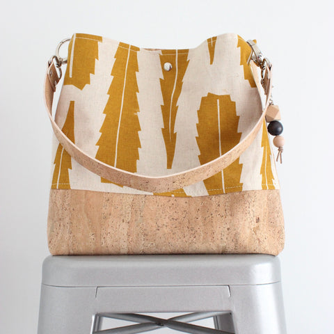 The Grommet Bag in Banksia Leaf Yellow Ocher