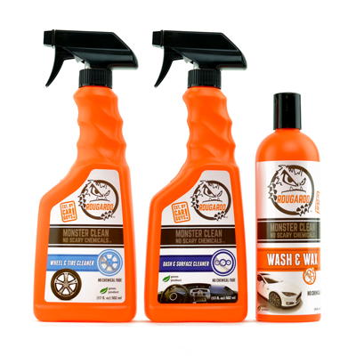 Rougaroo Monster Clean Car Detailing Pack