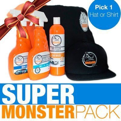 Rougaroo Super Monster Car Detailing Pack