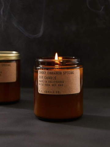 P.F. Smoky Cinnamon  Candle 7.2oz