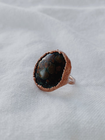 Olive Royal Ring