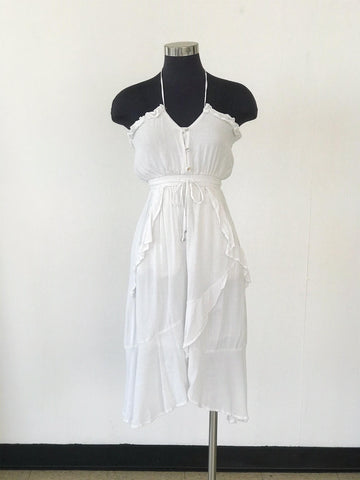 Summer White Dress - XS