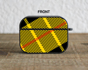 Tartan Yellow Plaid Case for AirPods 1 / 2 / Pro