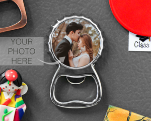 Personalized Cap Shaped Magnetic Bottle Opener