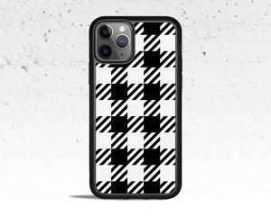 Gingham Check Phone Case for Apple iPhone