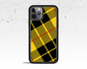 Tartan Yellow Plaid Phone Case for Apple iPhone