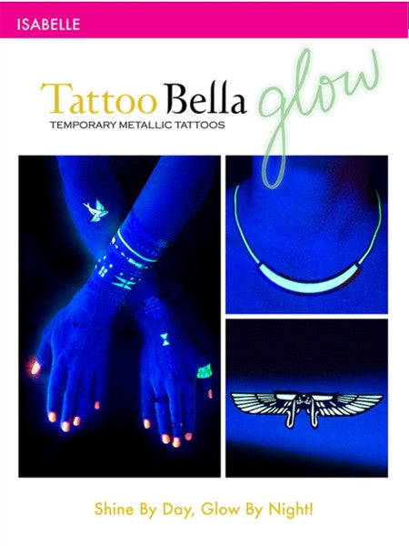 Isabelle Glow Tattoos