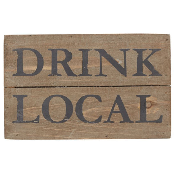 Drink Local Plaque