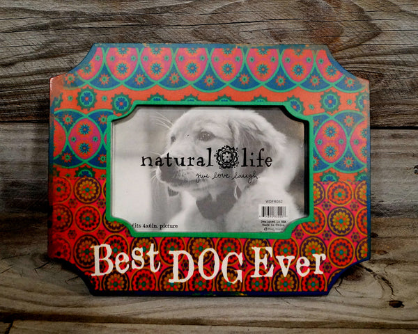 Best Dog Ever Color Frame
