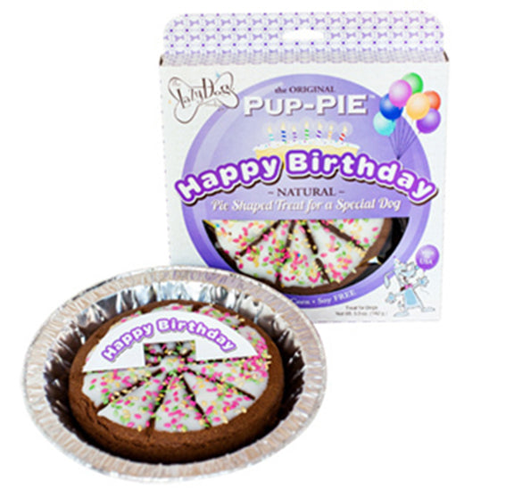 Happy Birthday Pup-Pie