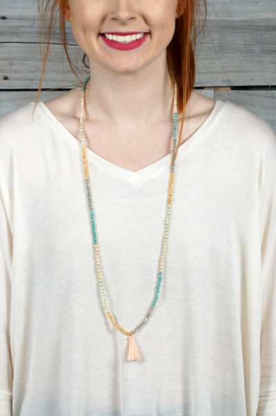 Pastel Boho Duo Necklace