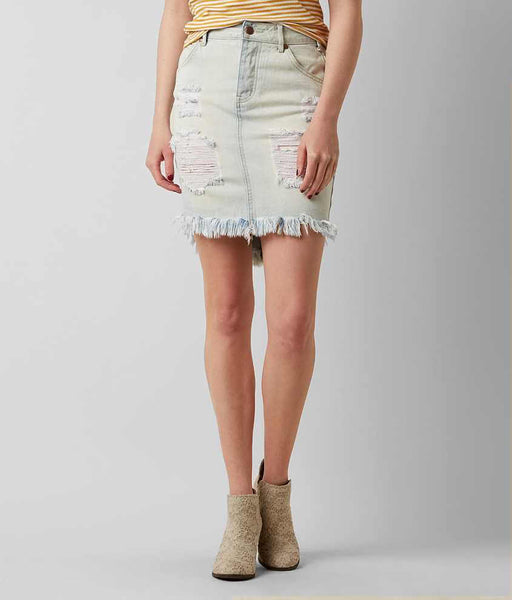 Lira Denim Skirt