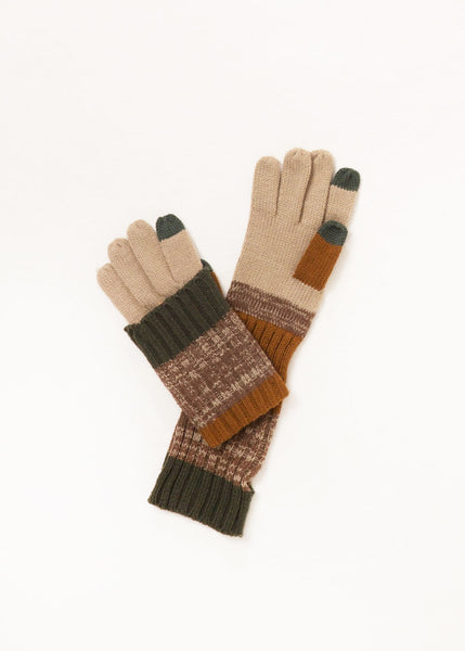 Convertible Olive Gloves
