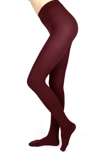 Burgundy Tights