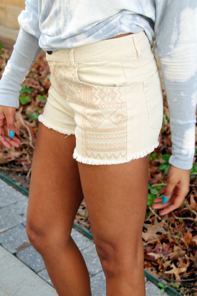 Mayan Denim Shorts