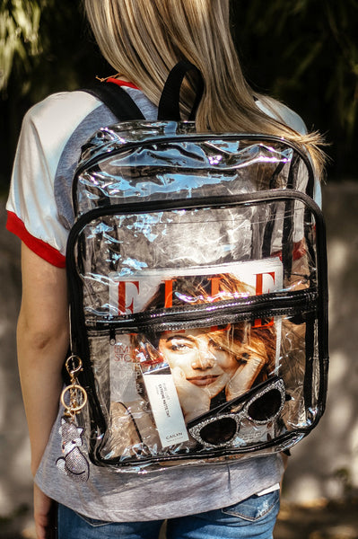 Deluxe Clear Backpack