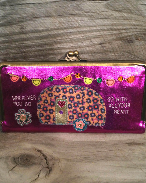 Go With All Your Heart Wallet