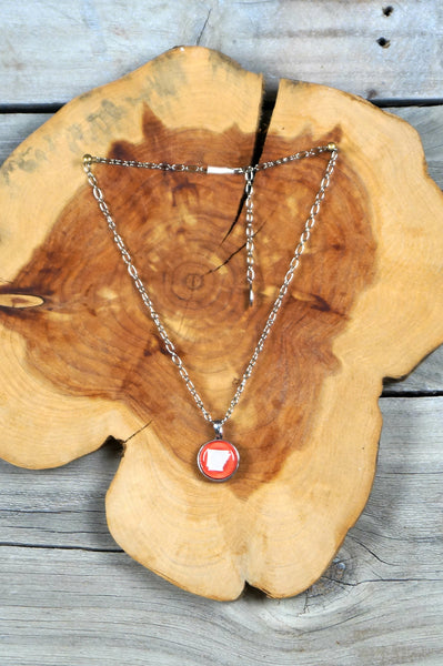 Arkansas Bubble Necklace
