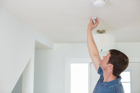 Use a Notion sensor to alert you when your smoke alarm is going off