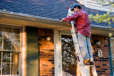 Spring Maintenance Tip #5 Image: Clean Gutters and Downspouts
