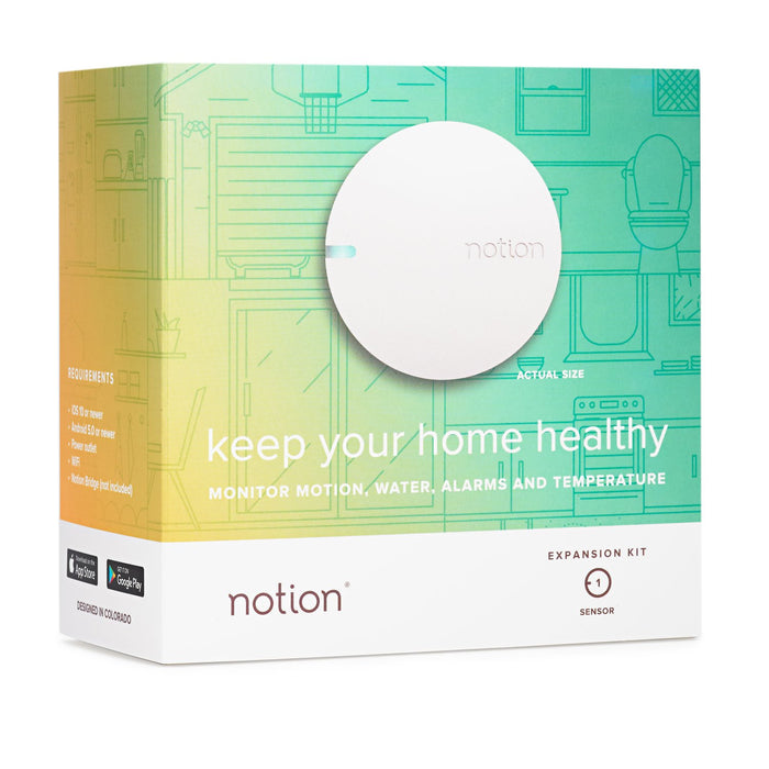 Notion Sensor box