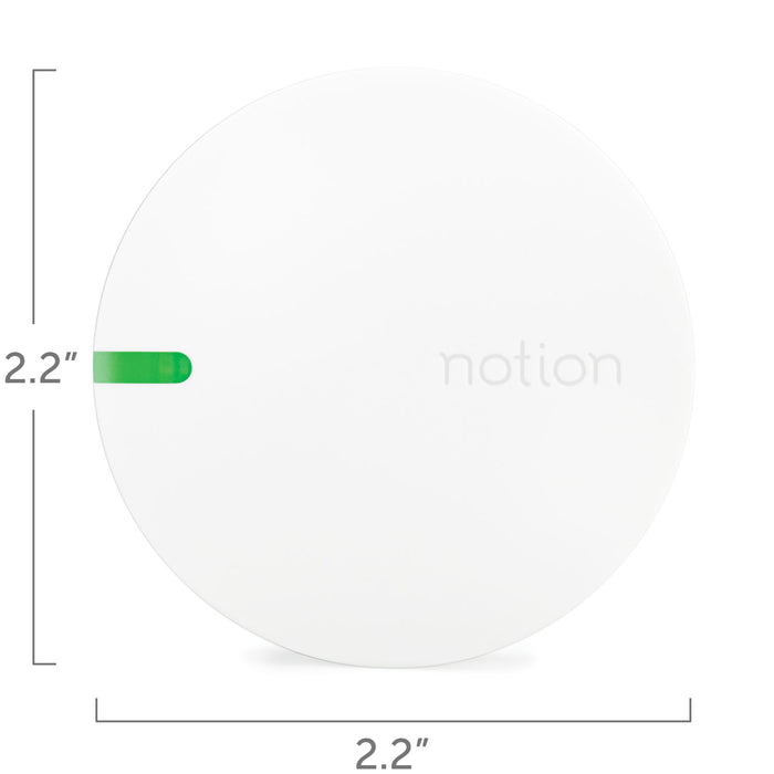 Notion Sensor measurements