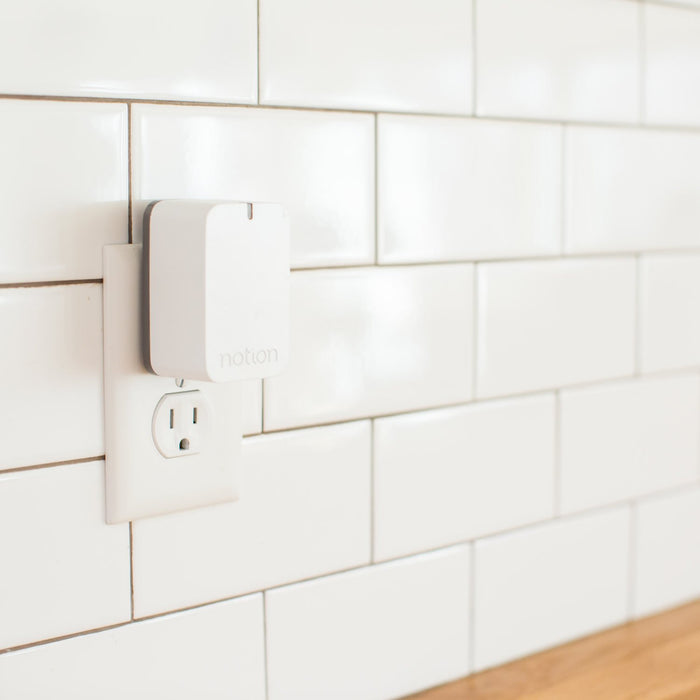 Notion Bridge plugged in to kitchen outlet
