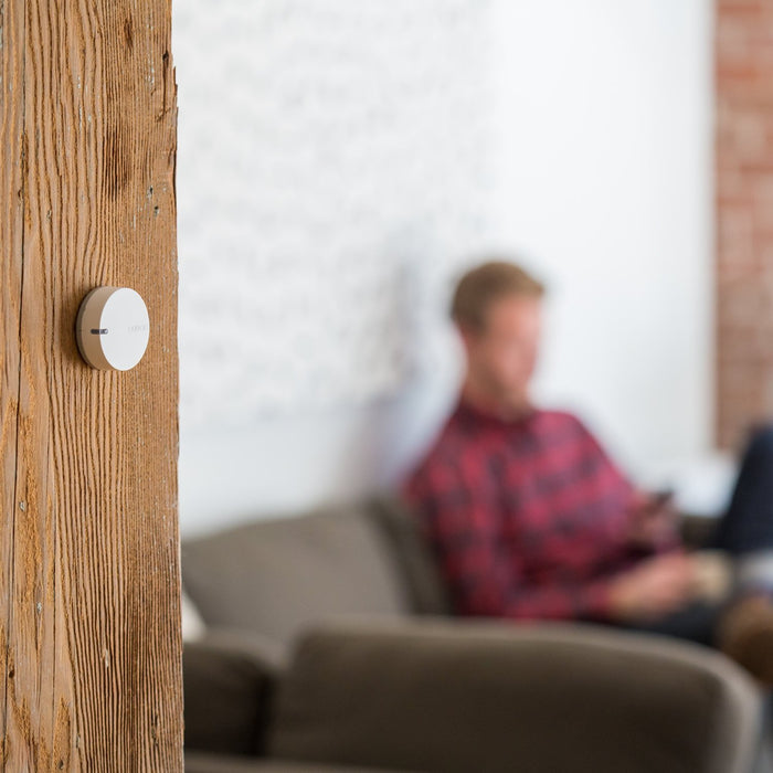 Notion Sensor on wood beam