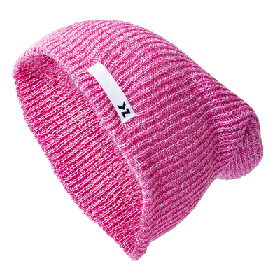 Heather Pink Beanie KZ