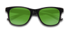 Kidz Floatable Sunglasses KZ Green / Black / Glossy