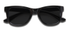 Small Floatable Sunglasses KZ Black / Black / Glossy