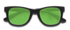 Small Floatable Sunglasses KZ Green / Black / Matte