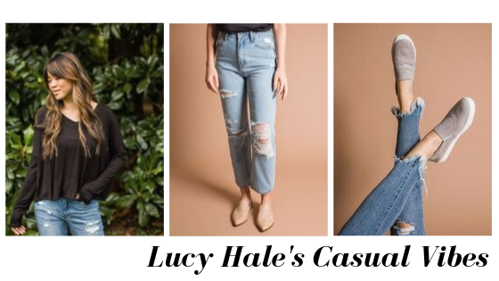 Lucy Hale Celebrity Style - Vinnie Louise