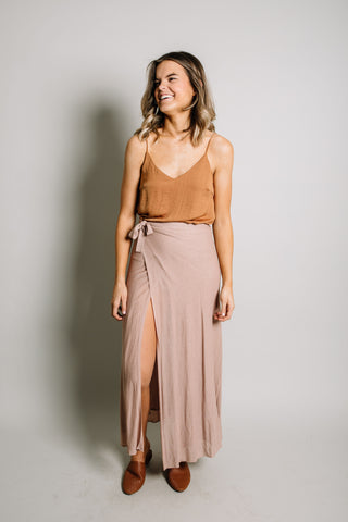 Molly Skirt in Mauve