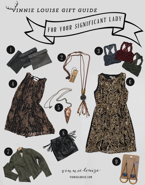 Vinnie Louise Gift Guide for A Significant Lady