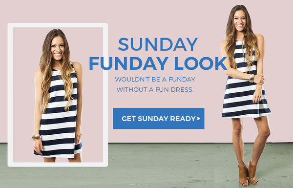 Wouldn't be a funday without a fun dress.