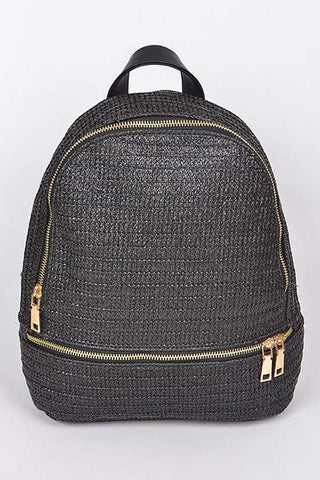 Tucson Backpack in black - Vinnie Louise