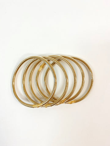 Jelly Bracelet - Gold