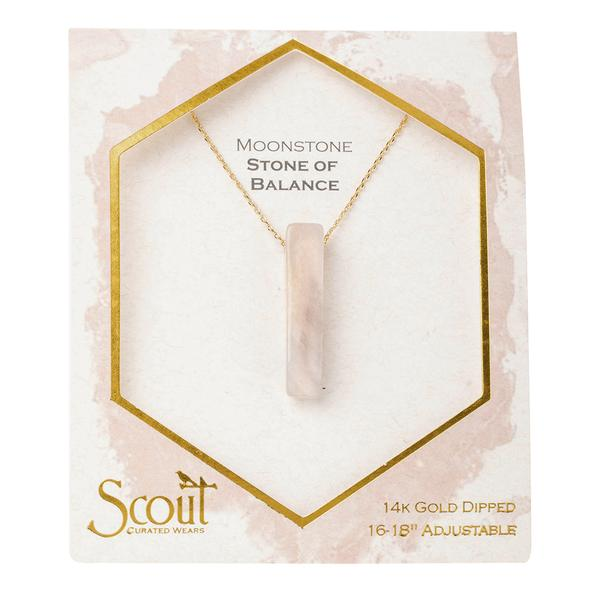 Scout SN Necklace - Moonstone