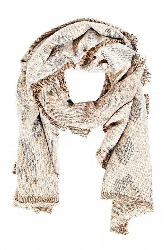 Baskin Scarf- Brown