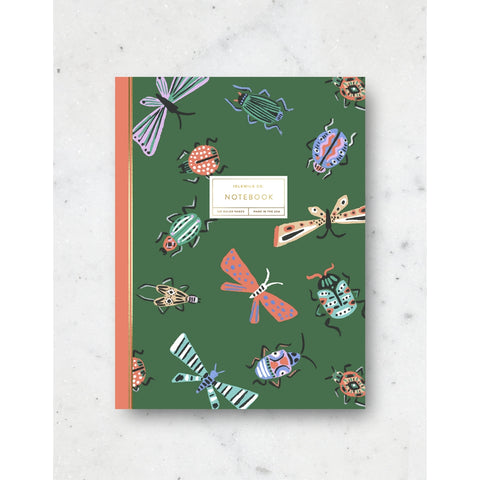 Beetles Notebook - 120 Pages