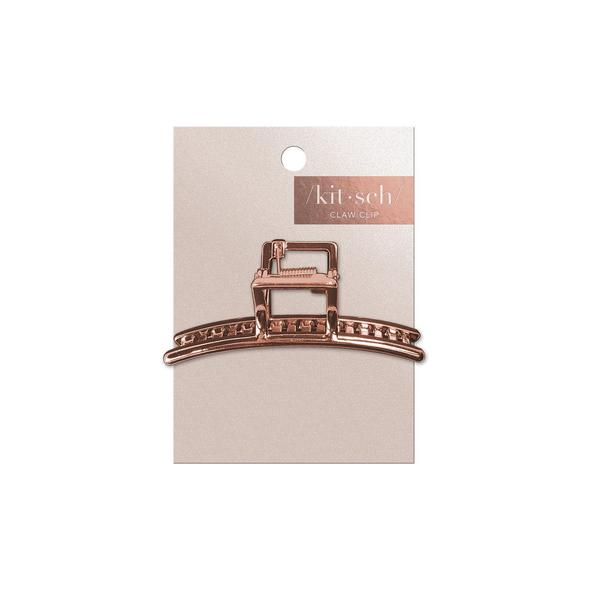 Bar Claw Clip - Rose Gold