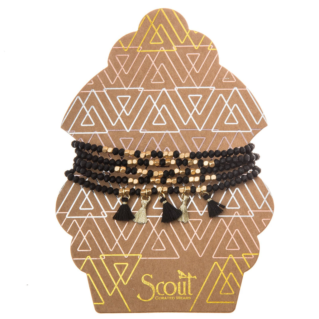 12th - Scout MT Bracelet - Black Jewelry - Vinnie Louise