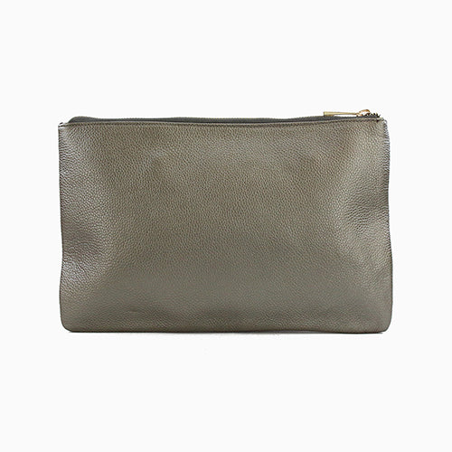 POS Lisbon Leather Clutch Bags - Vinnie Louise