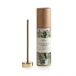 Balsam and Cedar Incense Set