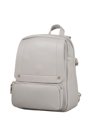 City Backpack - Grey - Vinnie Louise - 1