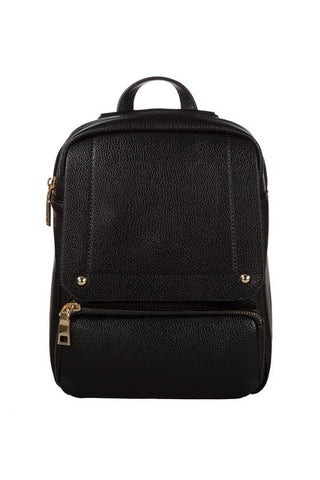 POS City Backpack - Black - Vinnie Louise